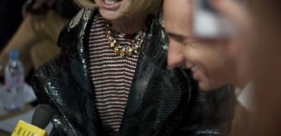 Anna Wintour at Christopher Kane SS12