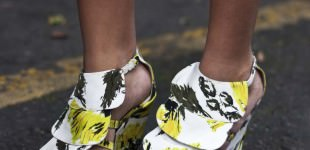 Shoe story: Clements Ribeiro.... New Oxford Street, London