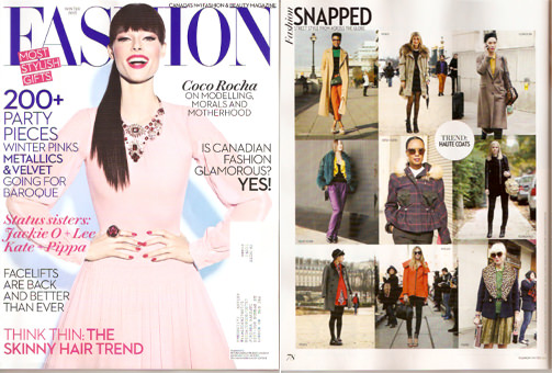 Fashion Canada Winter 2013