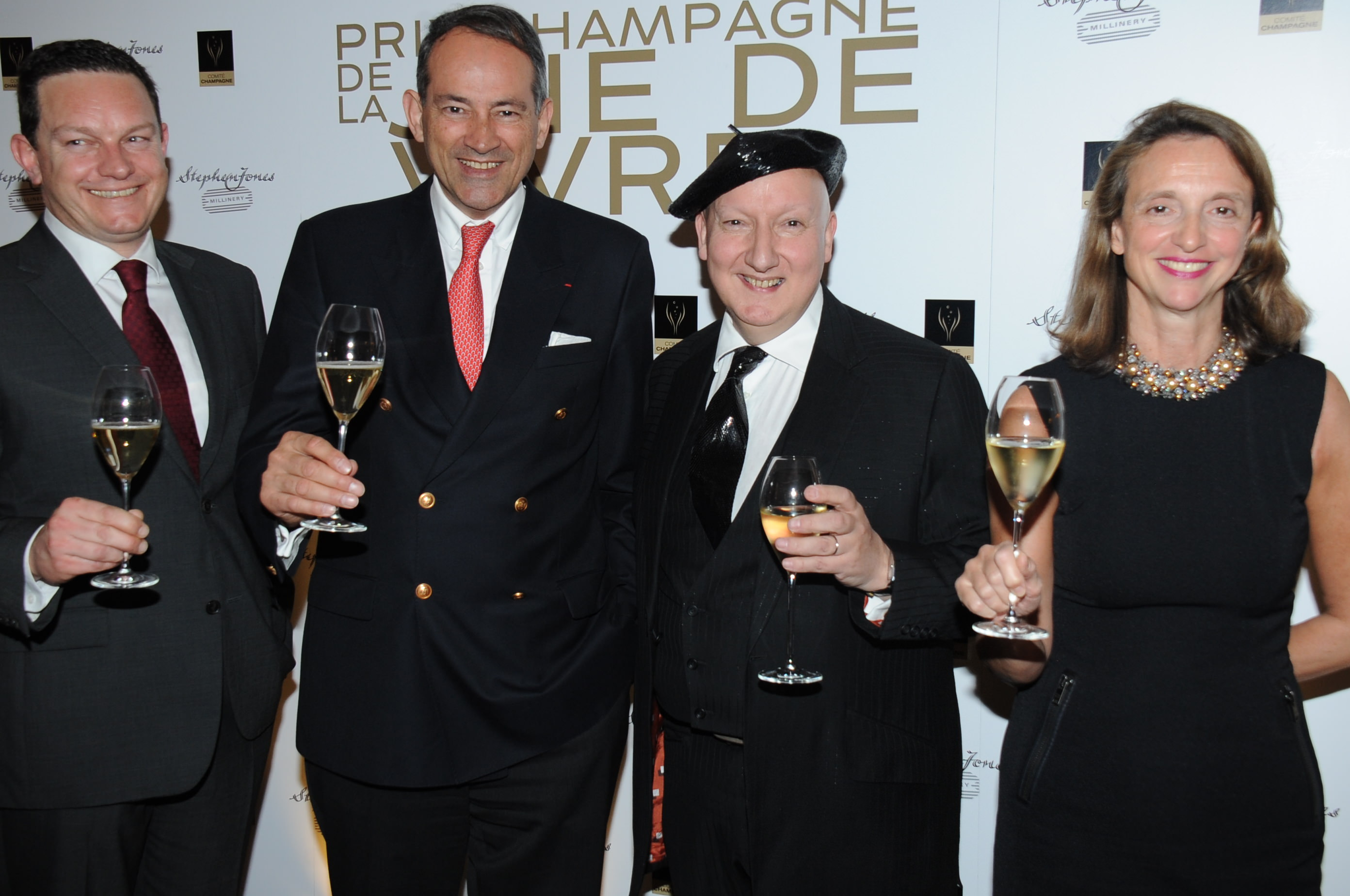 Prix Champagne De La Joie De Vivre UK, at The Undercroft at The Banqueting House, London, Britain - 12 Mar 2014