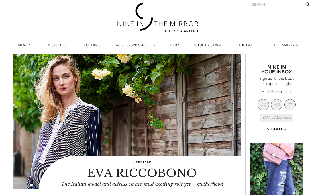 EVA RICCOBONO   NINE IN THE MIRROR
