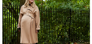 NINE IN THE MIRROR   Luxury fashion for expectant women