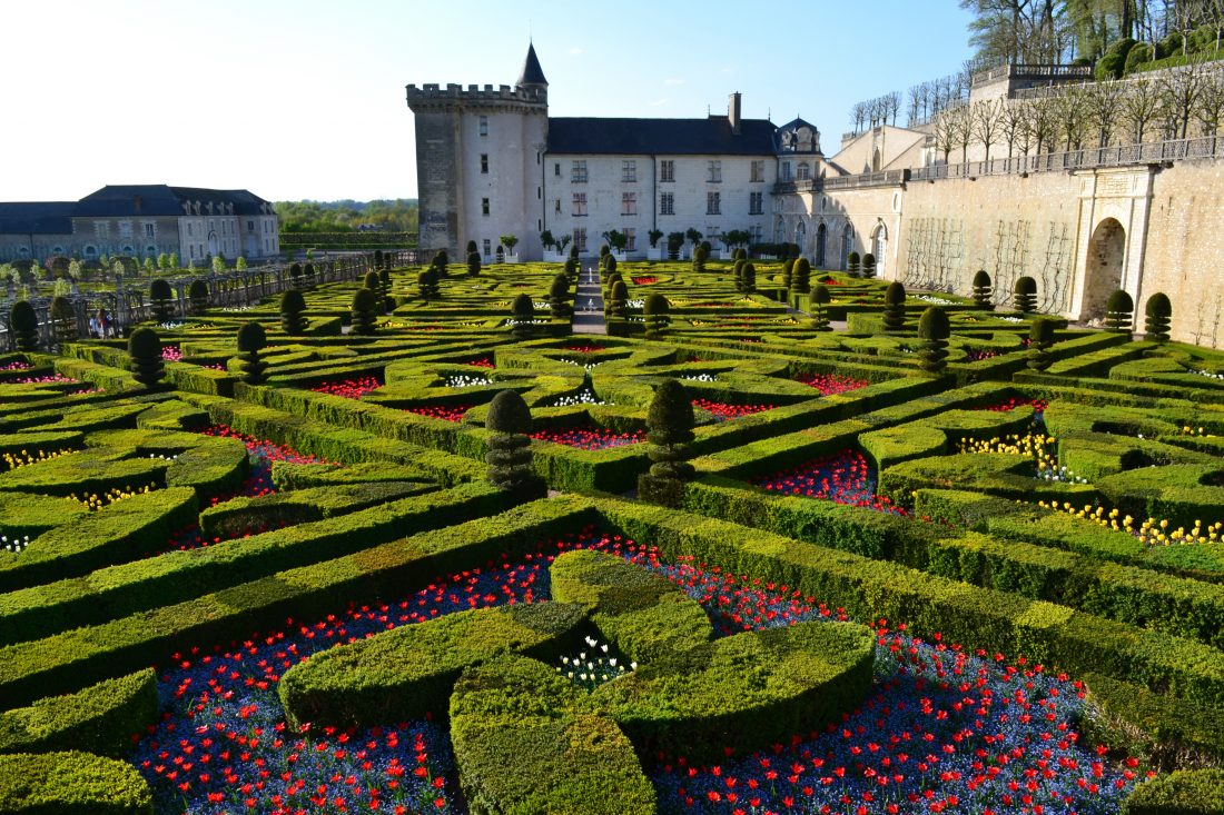 From Chateau Villandry in the Loire Valley, to roses overload in Spain, travel to these European gardens for the best botanicals in bloom.